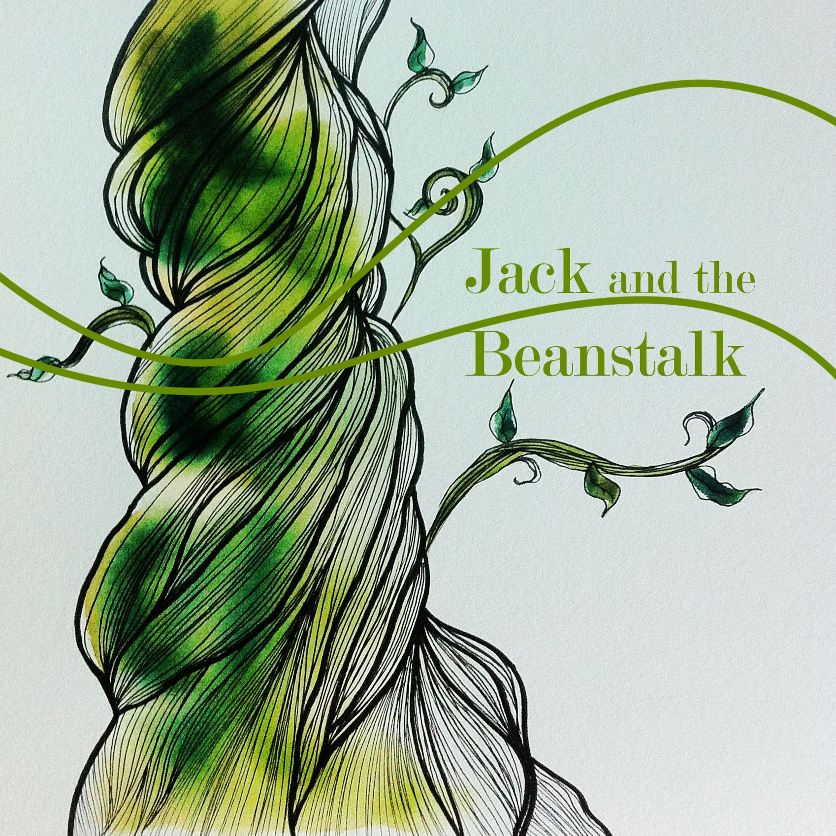 1698x1698 Jack And The Beanstalk Drawing