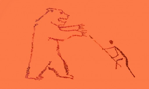 512x307 Cave Painting From Brother Bear