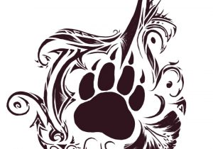 Bear Claw Drawing at GetDrawings.com | Free for personal use Bear ...