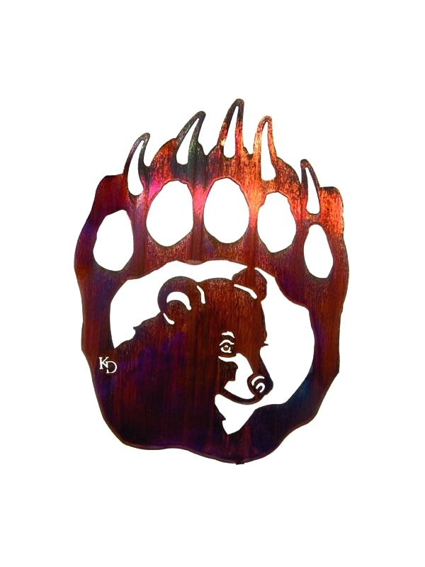 600x800 Native American Bear Art Bear Claw Native Bear Paw Tattoo Claw