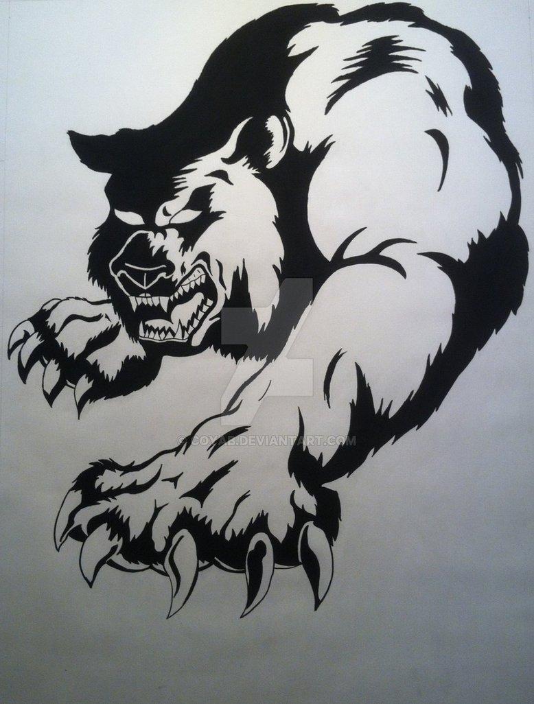 778x1026 Bear drawing by CoyAB on DeviantArt