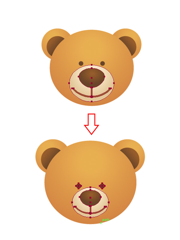 600x801 A Simple School Teddy Bear In Adobe Illustrator