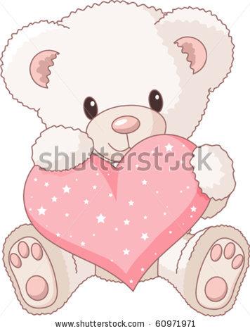 356x470 Drawn Teddy Bear Illustration