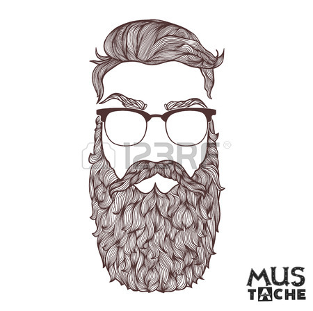 450x448 Beard Sketch Stock Photos. Royalty Free Business Images