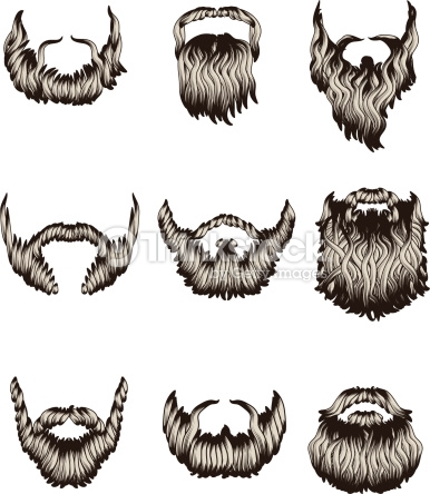 386x444 How To Draw Cartoon Beards