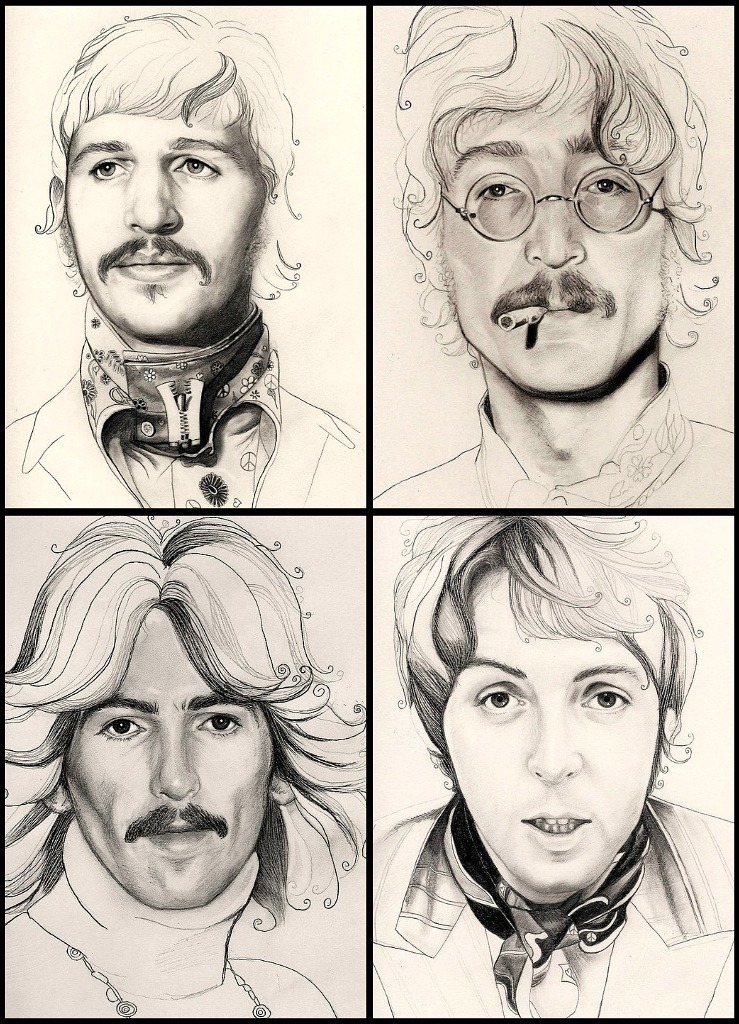 739x1024 The Beatles A Day In The Life By Georginaflood