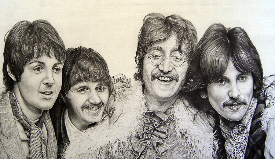 900x521 The Beatles By Paulcardenas63