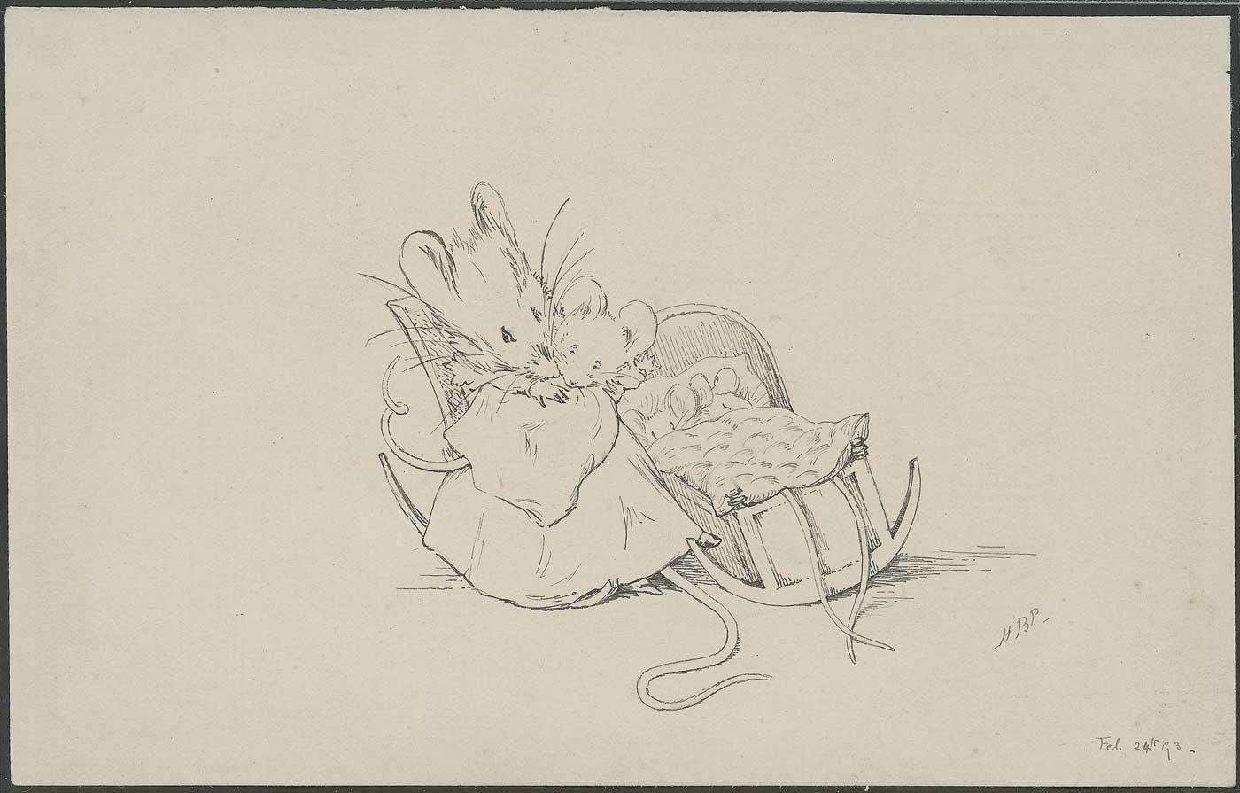 1400x895 Image Result For Beatrix Potter Mouse Sketch Dollhouse