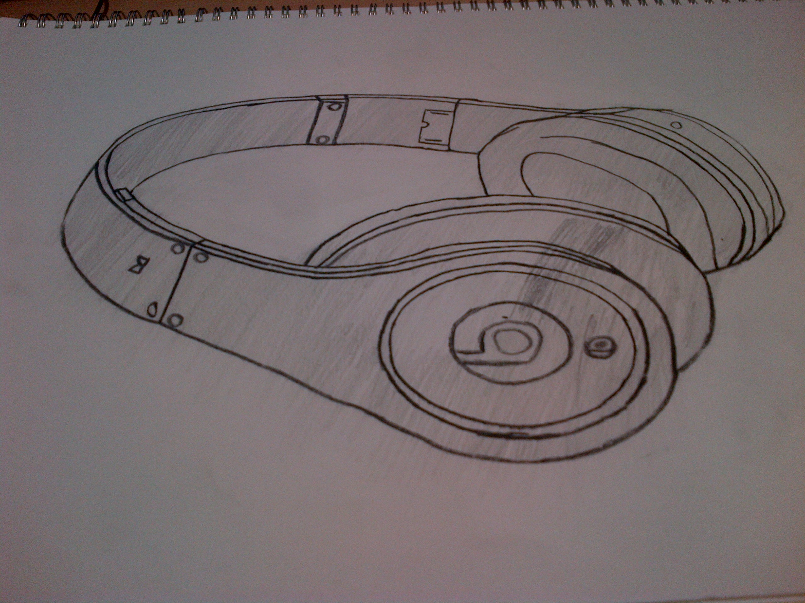 2560x1920 Photo Realisim Drawing Headphones Ryan Simpson