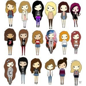 300x300 Cute Cartoons Cartoon, Cartoon Girls And Drawings