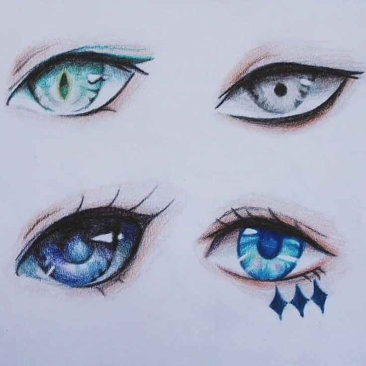 736x736 More Eyes 3 Are Inspired By @minmonsta Ones In My Own Style Can U