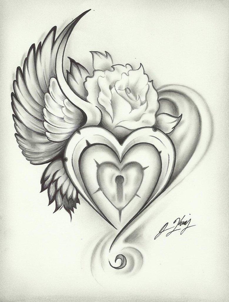 779x1026 So Beautiful!!! Heart Wings By J King