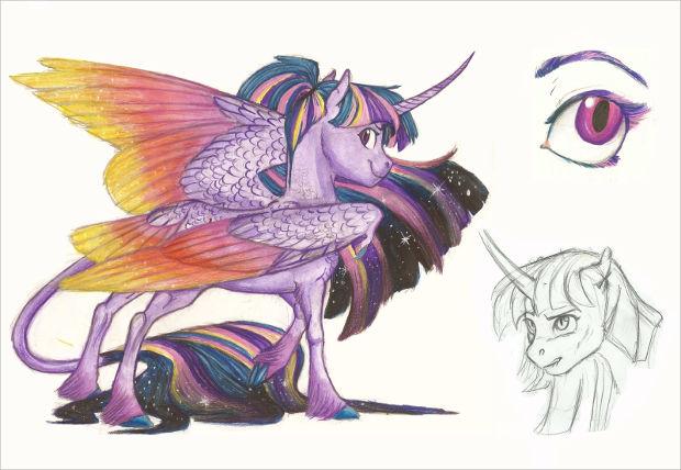 620x428 Beautiful Horse Drawings, Art Ideas Design Trends
