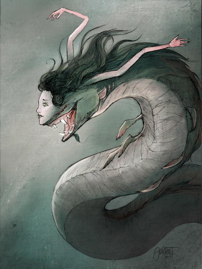 673x895 Beautiful Mermaid By Hoodd