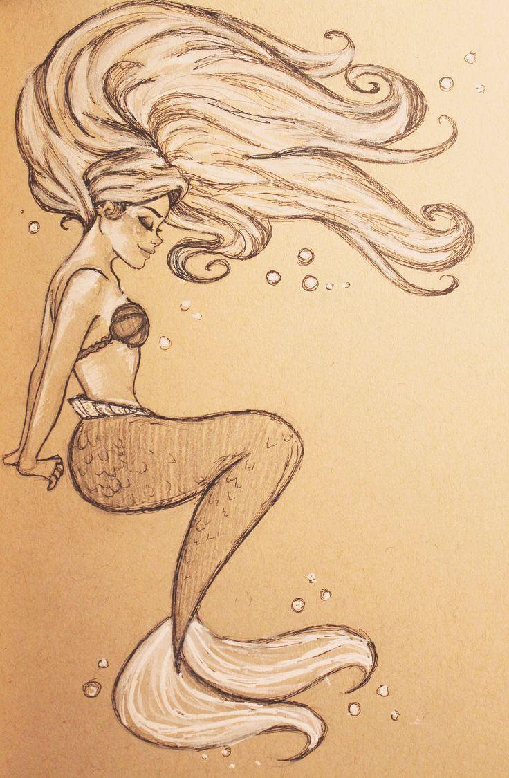 736x1125 Best 25 Beautiful Mermaid Drawing Ideas On Mermaid
