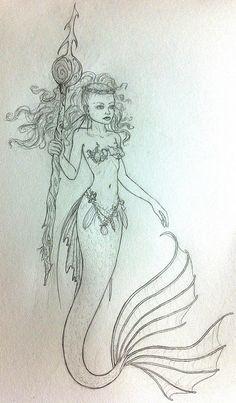 236x403 Red Haired And Fair Skinned Mermaid O C E A N I C