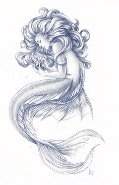 236x367 This Would Be One Of Very Few Good Mermaid Tattoo Ideas. Ive Seen