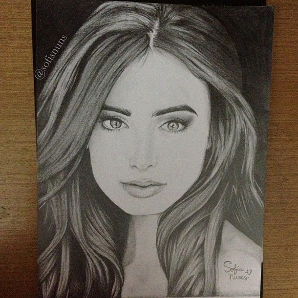 610x610 pictures beautiful woman face drawing