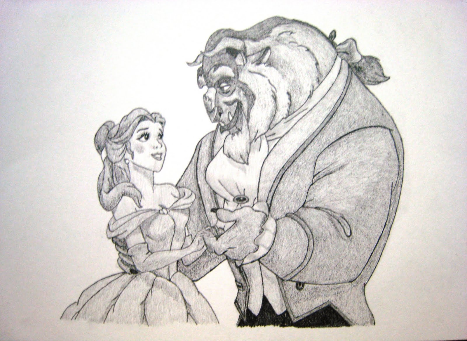 1600x1167 Move With Art Beauty And The Beast