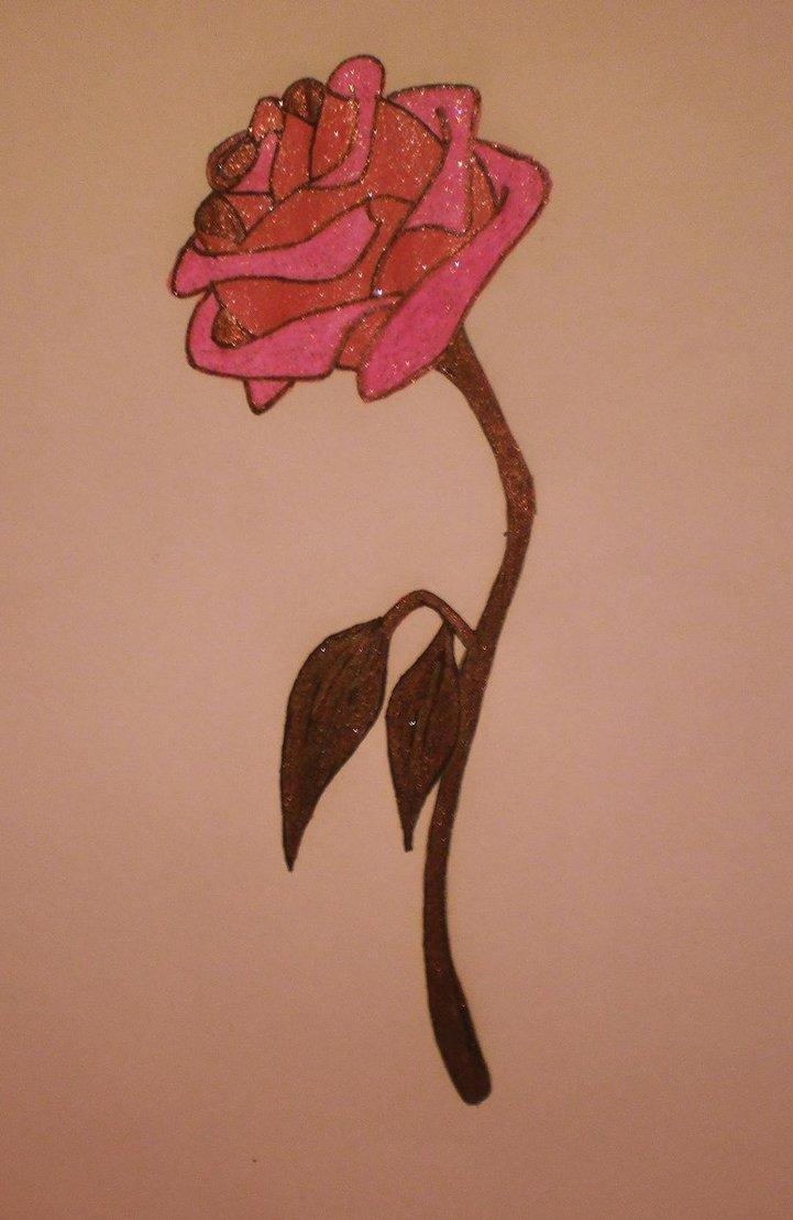 721x1108 Enchanted Rose Beauty And The Beast Rose By Enchantedbluerose