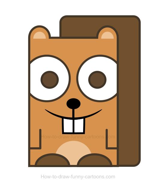 520x630 Beaver Clipart