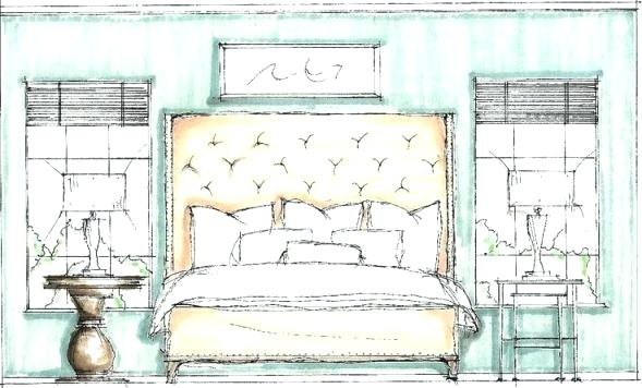 589x356 Bedroom Sketch Simple Bedroom Drawing Bedroom Sketch Images