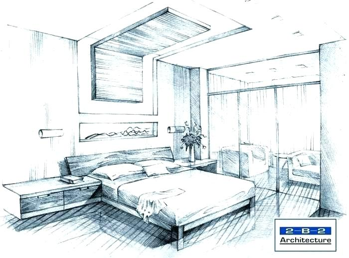 700x517 Drawn Bedroom Charming Dream Bedroom Drawing Betweenthepages.club