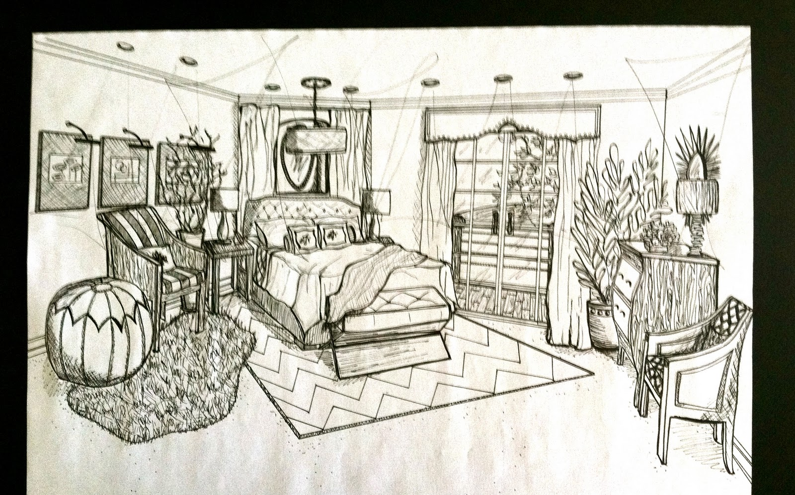 1600x997 Latest Bedroom Drawing Drawing Master Bedroom Bedroom