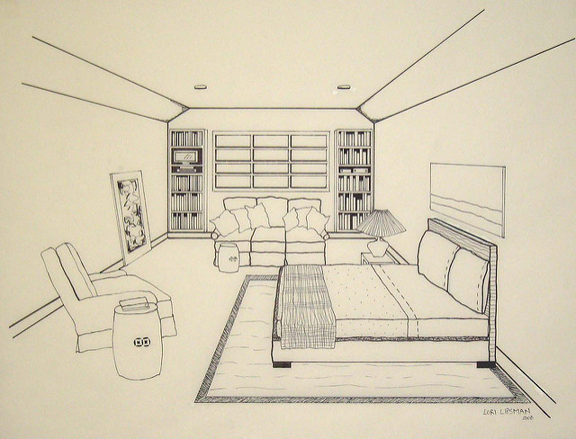 640x488 Master Bedroom Drawing Master Bedroom