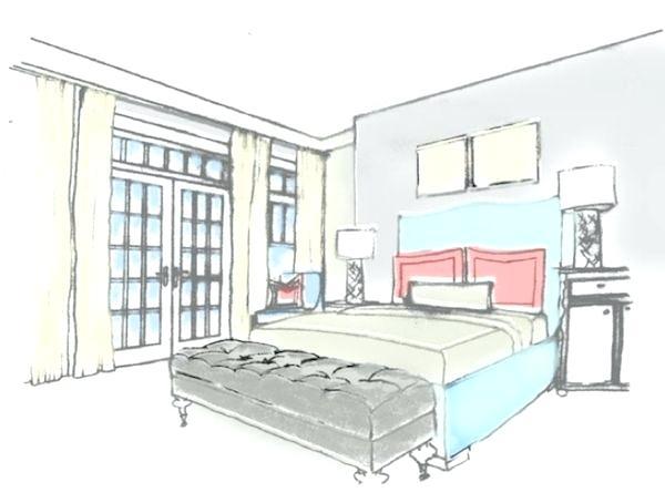 600x454 Bedroom Drawing Floor Plan 3 Bedroom House Drawing Plans Tehno