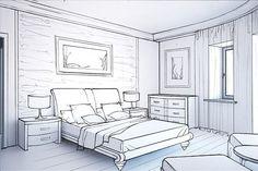 236x157 Dream Bedroom Sketch Bedroom Ideas Pictures Art