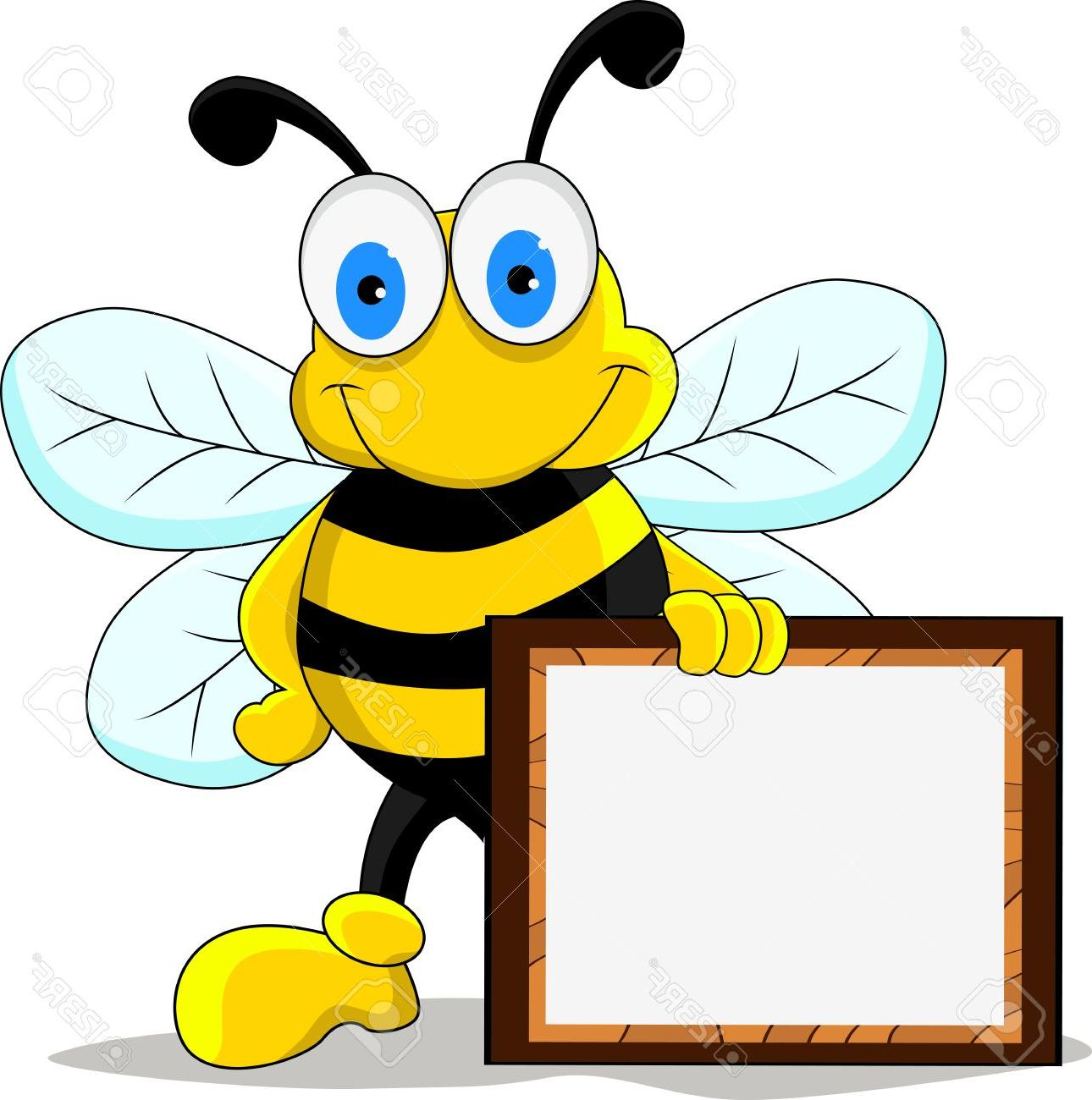 It is a graphic of Bewitching Funny Bee Picture