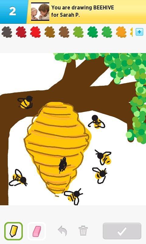 480x800 Beehive Drawings
