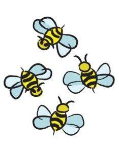 234x300 Cute Bumble Bee Drawings