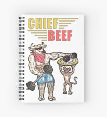 210x230 Beef Cow Drawing Spiral Notebooks Redbubble