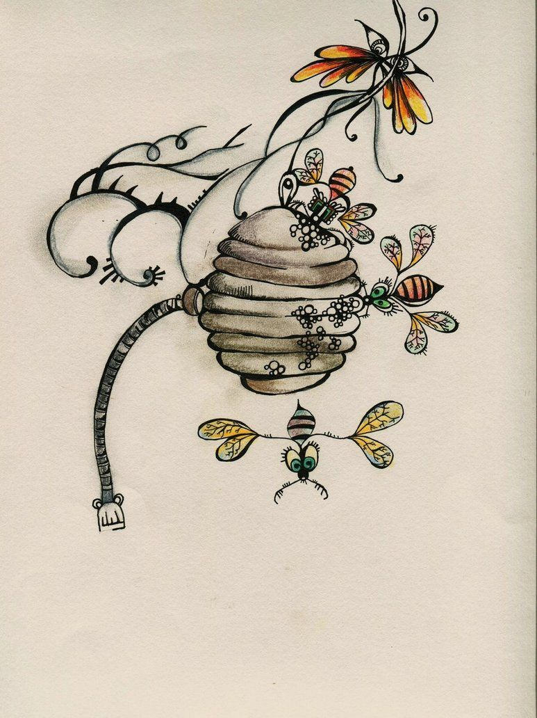 773x1032 Bee Hive By ~lindzb On Zentangle Amp Doodle Patterns