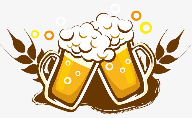 650x400 Beer Logo Logo Design, Beer, Beer Mug, Cartoon Hand Drawing Png