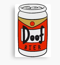210x230 Duff Beer Drawing Canvas Prints Redbubble