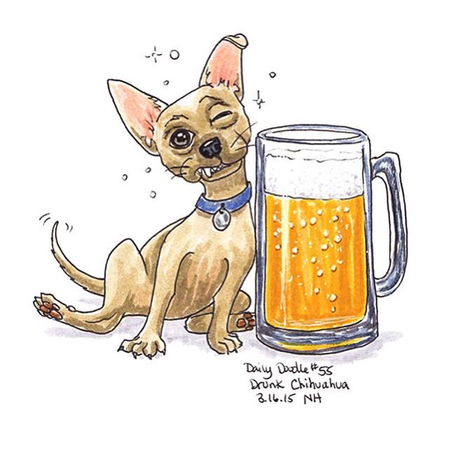 640x640 No.55 Drunk Chihuahua