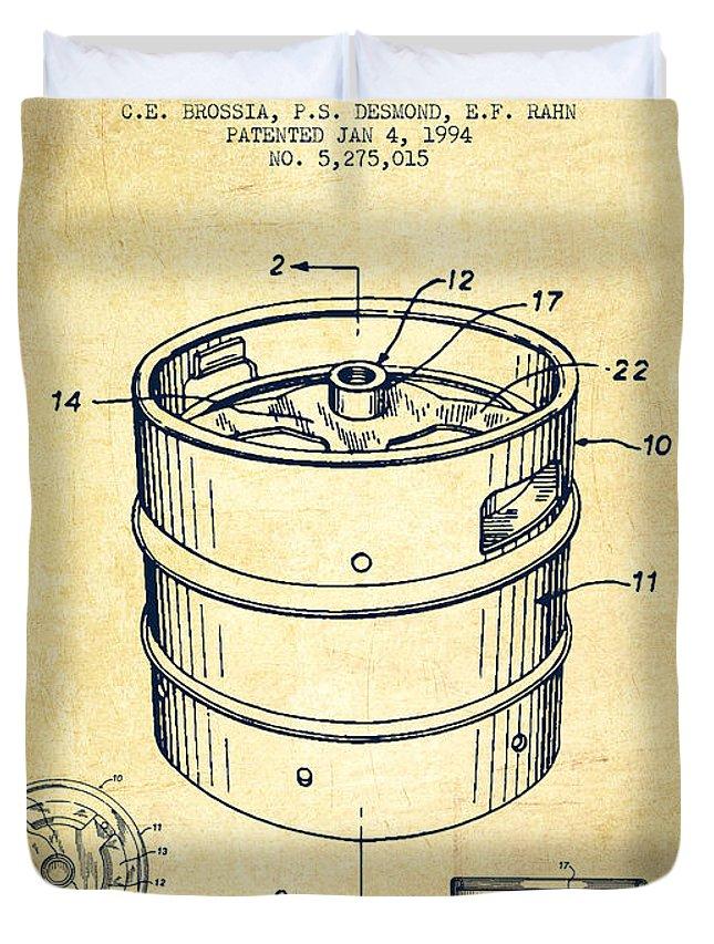645x853 Beer Keg Patent Drawing