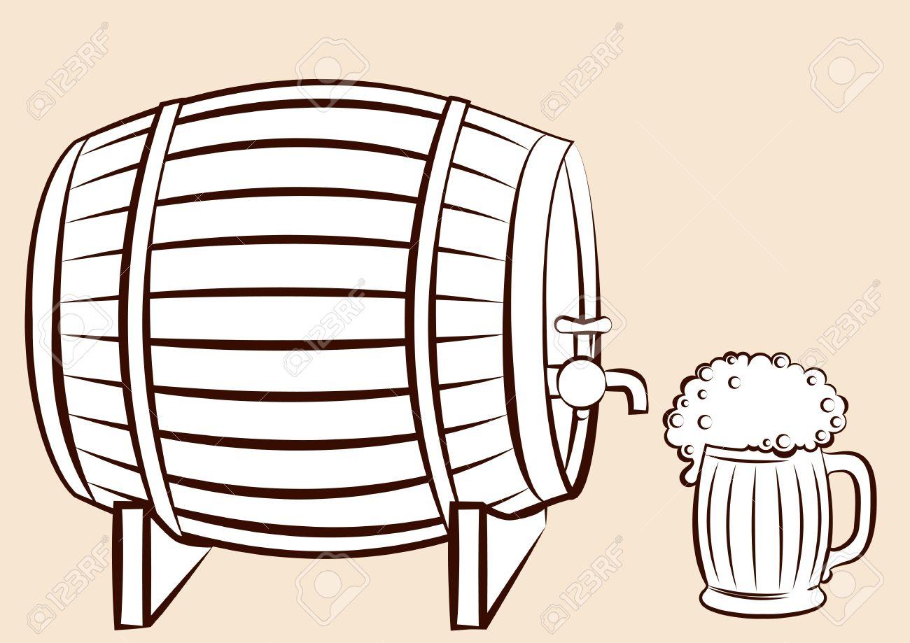 1300x919 Beer Clipart Beer Keg