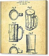 163x186 Beer Mug Patent Drawing From 1951