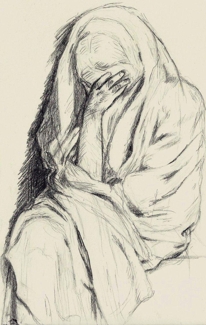 711x1124 Beggar Woman (Degas) By Klaka97