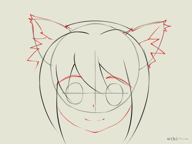 670x503 how to draw anime girl step by step for beginners