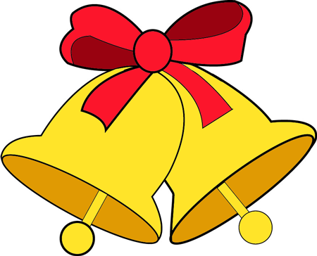 450x364 How To Draw Christmas Bells And Bow Step By Step Drawing Lesson