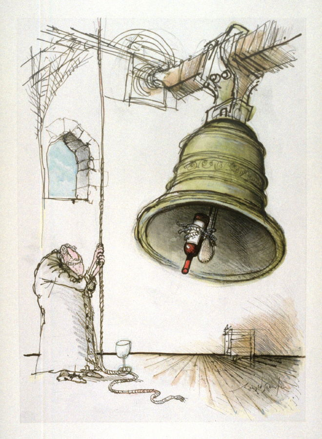 660x900 Wrong (Man Ringing A Bell), Drawing For Page 21 Of The Booklet
