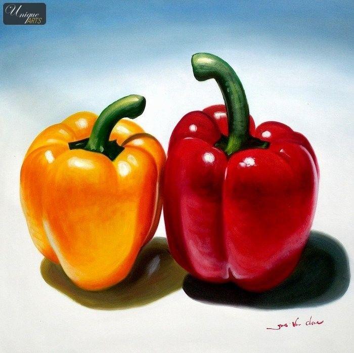700x698 Pepper Drawings