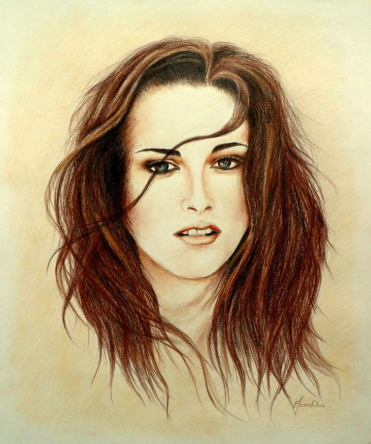 753x900 Bella Drawing By Lena Day