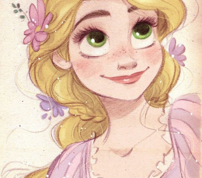 678x600 Disney Princesses Drawings Coloring Pages
