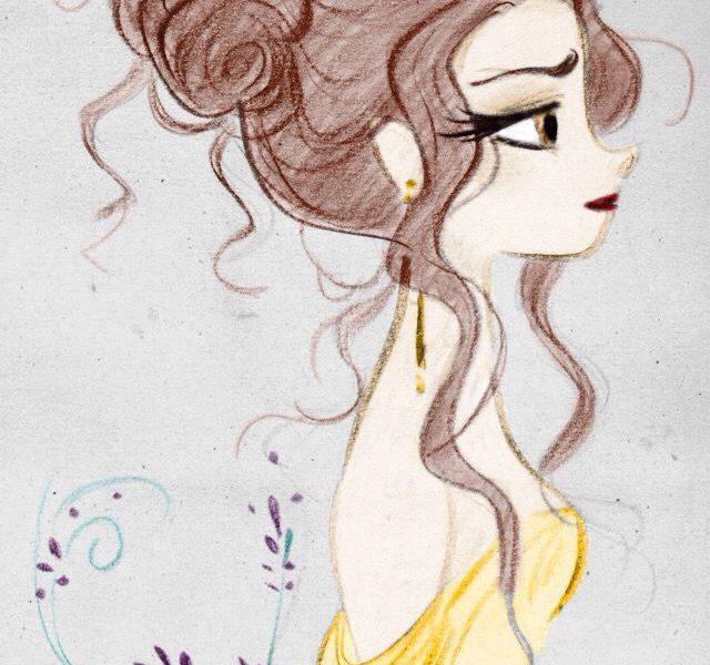 640x600 Disney Princesses Drawings Drawn Hand Disney Princess Pencil